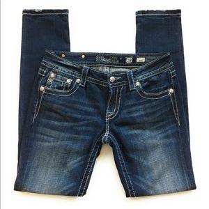 Miss me signature skinny jean, Sz 28, JY71179